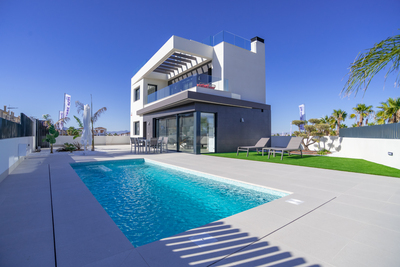 For Sale: New Build Villa in Algorfa Beds: 5 Baths: 5 Price: 285,000€